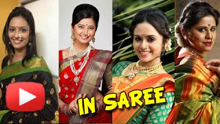Marathi Actresses in Saree - Who Looks Best in Saree - Sai Tamhankar, Priya Bapat, Neha Pendse