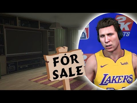 Moving into NEW APPARTMENT In Los Angeles! NBA 2K18 My Career