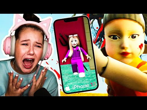 SQUID GAME AND THE NEW IPHONE 13.. (Roblox)