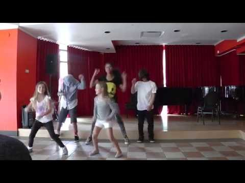 MCA Academy afterschool Hip Hop club performance (skybeat kids)