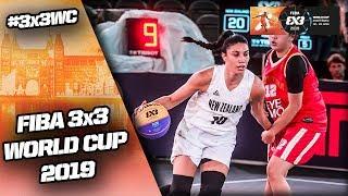 New Zealand v Indonesia | Women's Full Game | FIBA 3x3 World Cup 2019