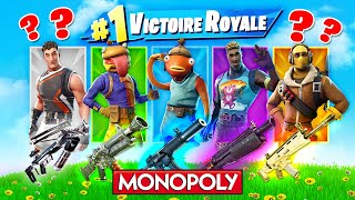 SKIN MONOPOLY ALÉATOIRE CHALLENGE! FORTNITE Battle Royale Challenge