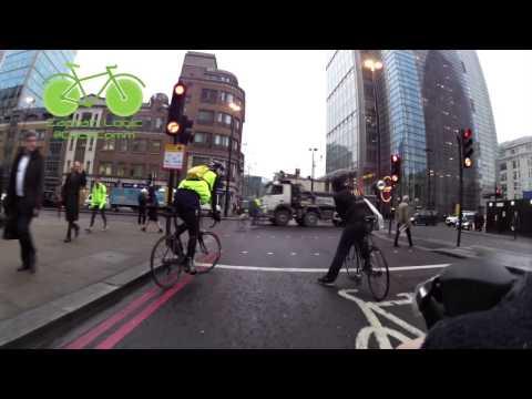 Death wish, attention seeking, cyclist