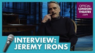 Jeremy Irons on Long Day's Journey Into Night