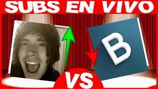 HolaSoyGerman VS Badabun ????EN VIVO???? SUSCRIPTORES EN DIRECTO! CONTADOR DE SUBS PewDiePie vs T-Se