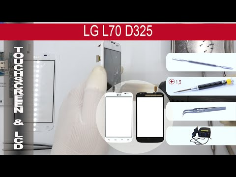 How to replace 🔧 digitizer (touch screen) 📱 LG L70 D325
