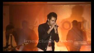 MUSTAFA ZAHID SINGING NAINA LAGIYAN BARISHAN AT KINSHA LAUNCH SHOW