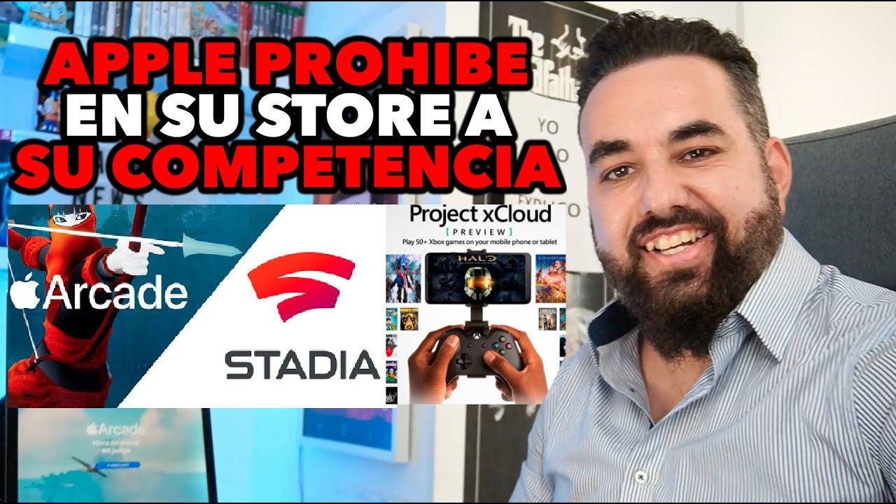 DURO E INESPERADO GOLPE a Xbox Game Pass y Google STADIA apple PROHÍBE sus aplicaciones en App Store