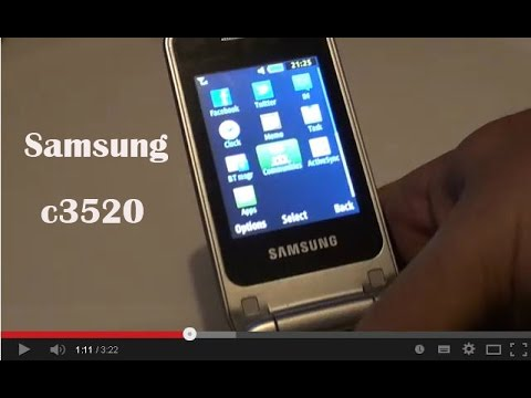 Samsung c3520 (English Review)