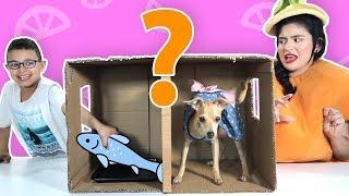 فوزي موزي وتوتي | فقرة المندلينا | لعبة ماذا يوجد بالصندوق 2  |2 What's in the box
