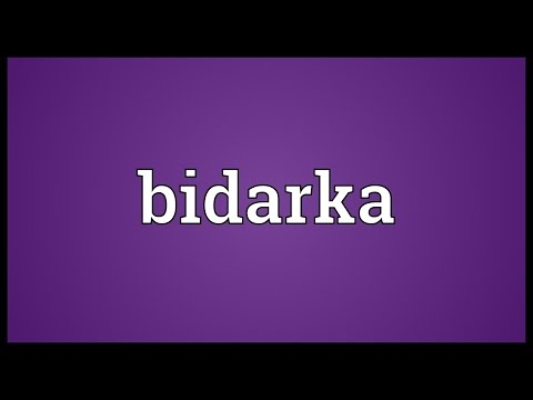 Header of bidarka
