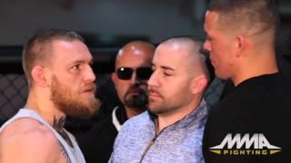 UFC 196: Conor McGregor vs. Nate Diaz Staredown