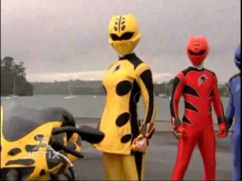 Power Rangers Jungle Fury  Yellow Ranger Morph  Anna Hutchison