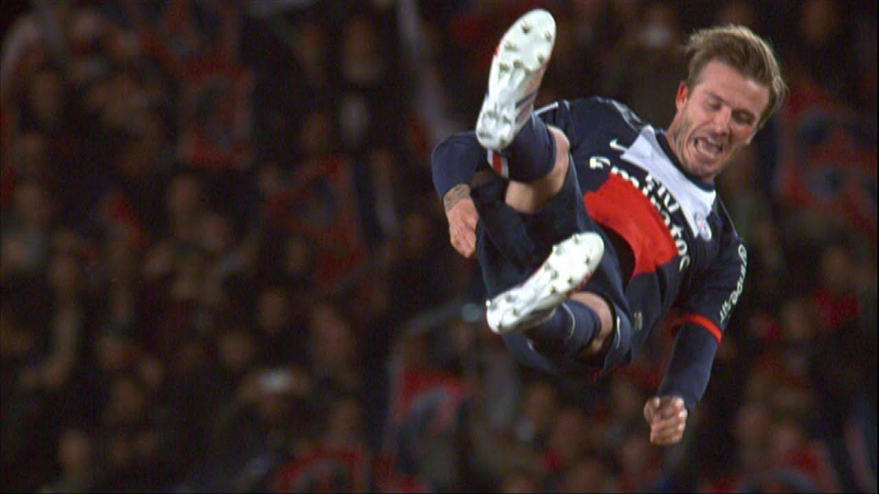 Les larmes de Beckham, son dernier match au Parc des