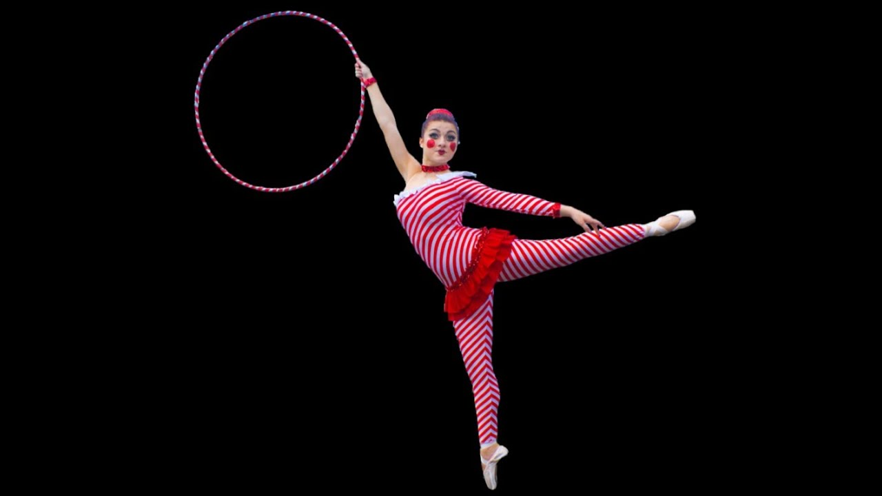 hula hoop on pointe to the nutcracker suite by caitlin skye youtube. Black Bedroom Furniture Sets. Home Design Ideas
