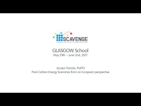 GLASGOW School - Post Carbon Energy Scenarios from an European perspective