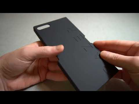 Official Razer Phone Word Case - Black Unboxing and Review