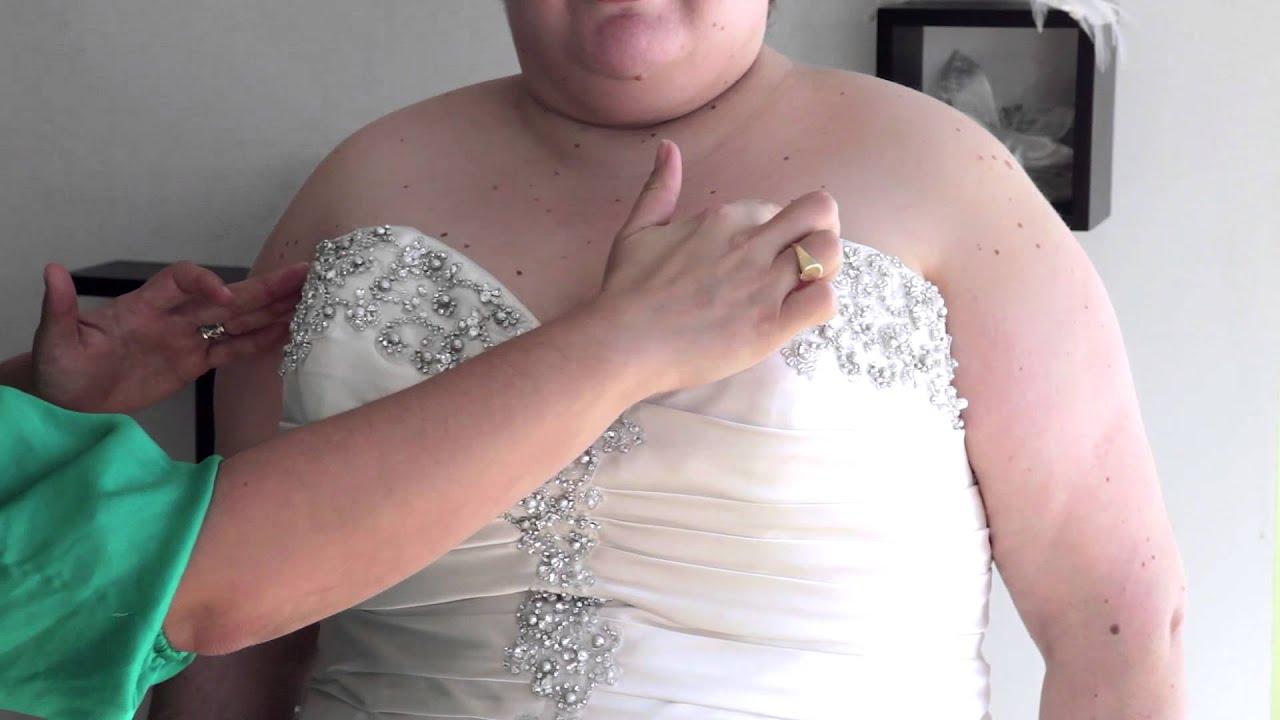 Bridal Gown Neckline Types : Bridal Fashion Tips - YouTube