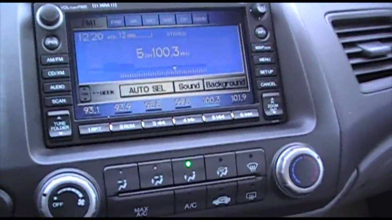 2007 Honda Civic EX NAVIGATION - Excellence Cars Direct ...
