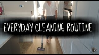 MY EVERYDAY ALL DAY CLEANING ROUTINE | HOW I KEEP A TIDY HOME | KERRY WHELPDALE