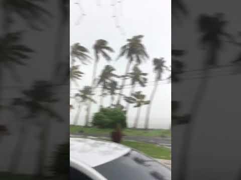 Cyclone Gita at Samoa