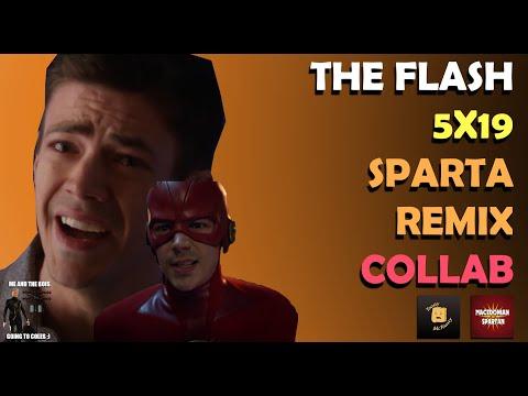 The Flash 5x19 Sparta Remix Collab