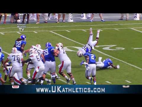 Kentucky Wildcats TV: Kentucky Football vs UT Martin Highlights