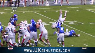 Kentucky Wildcats TV: Kentucky Football vs UT Martin Highlights