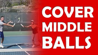 Cover Middle Balls | DOUBLES NET PLAY