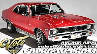 1969 Chevrolet Nova SS for sale at Volo Auto Museum (V18968)