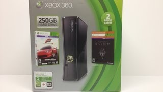 Xbox 360 250GB (Holiday Bundle 2012) Unboxing!