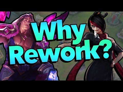 видео: [lol] Почему riot переделывают чемпионов?