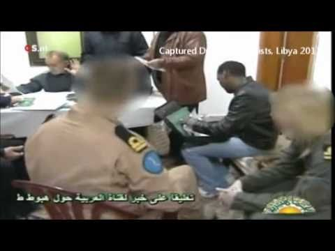 Libyan TV - Dutch Marines Captured In Libya