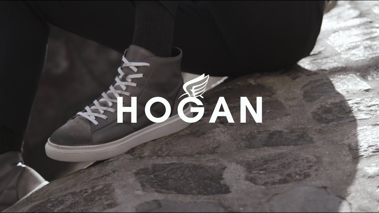 #HOGANJOURNEY AW1718 Advertising Campaign Men's H340 High Top sneakers - HOGAN