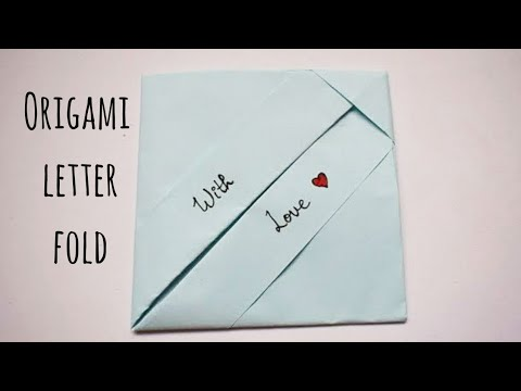 Easy Origami Envelope | DIY Letter Folding Ideas | Easy Origami Note Folding | Fun Friendship Crafts