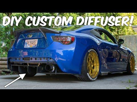 Making a Custom Diffuser!! Subaru BRZ
