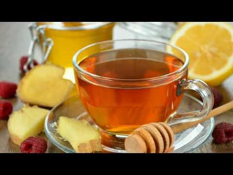 Имбирный чай с лимоном и медом для похудения.