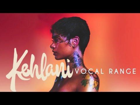 Kehlani 's Vocal Range (G2 - E5 - G5)