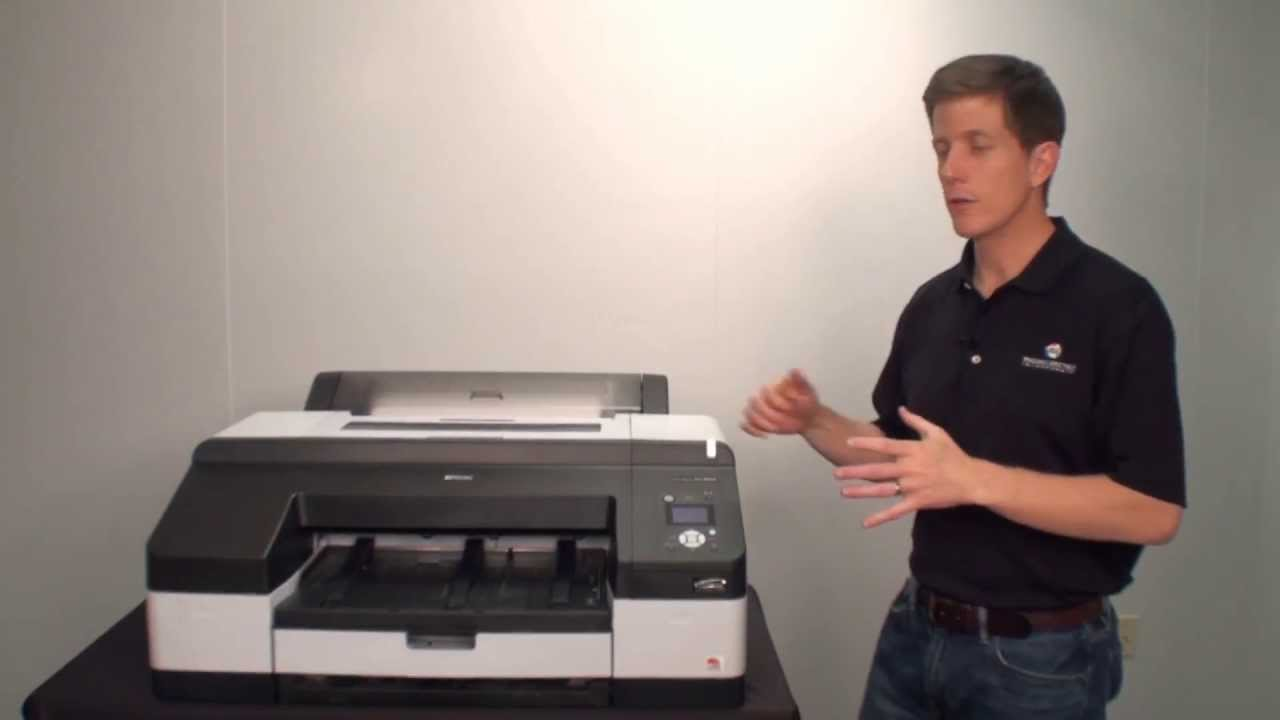 Epson Stylus Pro 4900 Printer Drivers for Windows Download