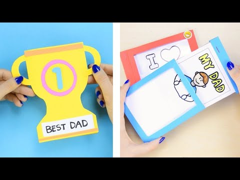 Fathers Day Cards 5 Fathers day crafts for kids