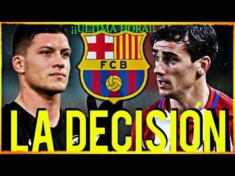 ¡¡LA DECISIÓN del BARÇA SOBRE EL DELANTERIO ESTA TOMADA!! ¡ÚLTIMA HORA! FCB NOTICIAS