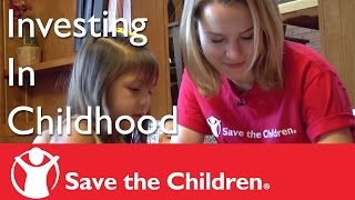 Bridgit Mendler with Save the Children in Central Valley, CA: Jalyssa's Story
