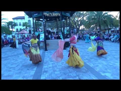 The Village Gypsies and Sahara Silk dance Cruise In Mar 2017 v2