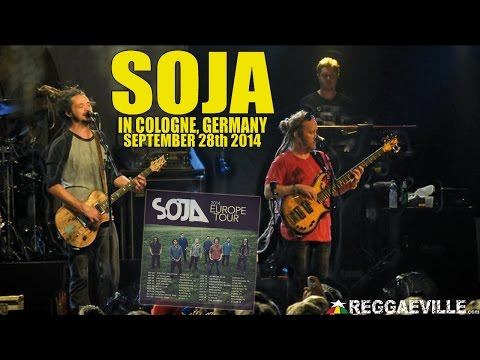SOJA - Your Song feat. Bobby Lee in Cologne, Germany @ Live Music Hall [September 28th 2014]