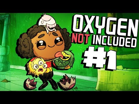 A New Colony Awaits!- Ep. 1- Oxygen Not Included Ranching Upgrade Mark II - ONI Gameplay