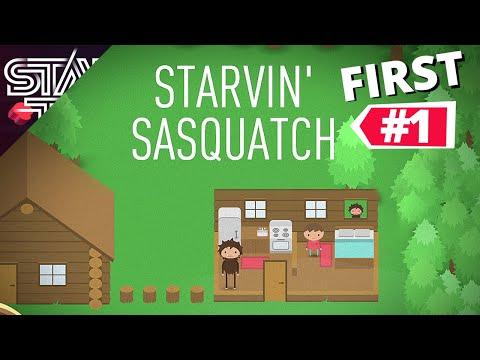I PLAYED STARVIN' SASQUATCH - First Sneaky Sasquatch Game: SneakySasquatch