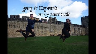 going to HOGWARTS - a flying lesson
