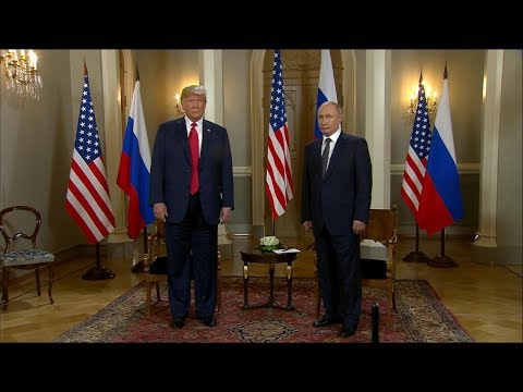President Trump,  Russia's Vladimir Putin hold joint news co