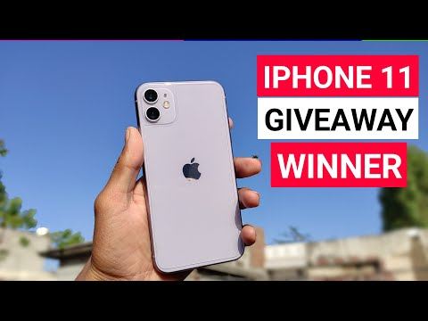 Download Iphone 11 Giveaway Winner | Iphone 11 In 2021| Iphone 11 Unboxing & Review In 2021
