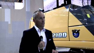 Sandy Guthrie talks to Andy Blandford of Case Construction Equipment - Intermat 2015